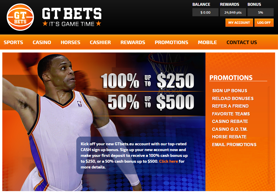 GTBets Screenshot