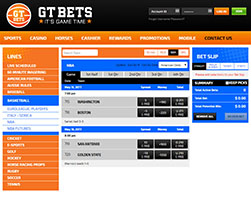GTBets betting interface