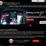 SportsBettingOnline ag website interface