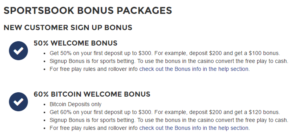 YouWager Sportsbook Bonus Packages - Terms And Conditions