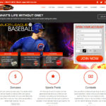 1Vice Sportsbook site landing page