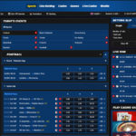 10Bet Sportsbook Site Betting Software Interface