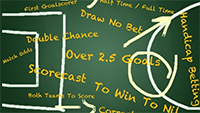 betting Odds Types blackboard