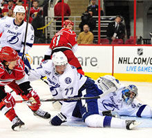 Tampa Bay Lightning at Carolina Hurricanes