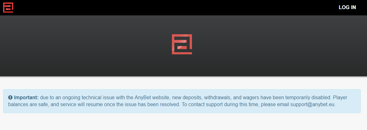 AnyBet.eu betting site down