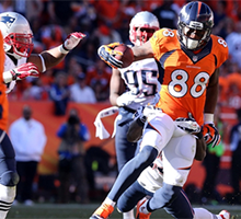 NFL Week 10 New England Patriots vs Denver Broncos prediction