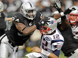 New England Patrios vs Oakland Raiders NFL Week 11 prediction