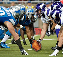 Thanksgiving NFL Games - Minnesota Vikings vs Detroit Lions prediction