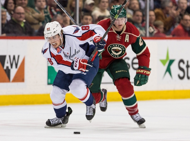 free nhl picks for tonight Minnesota Wild vs Washington Capitals prediction