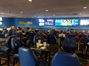 William Hill sportsbook at the Plaza