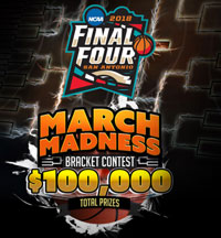 2018 March Madness Bracket Contest at SportsBetting.ag