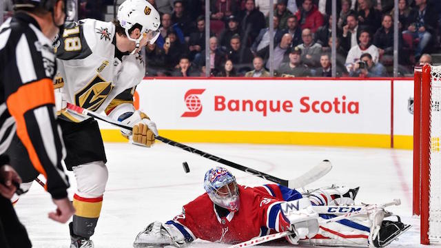Vegas Golden Knights vs. Montreal Canadiens