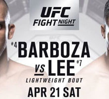 UFC Fight 128 - Barboza vs Lee Betting Odds