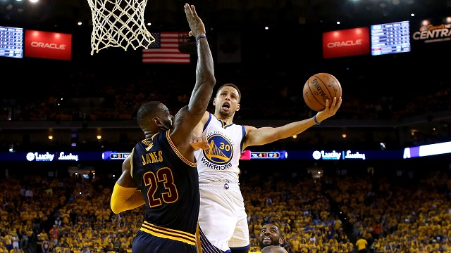 How The NBA Finals and Playoffs Props Work - Curry and James