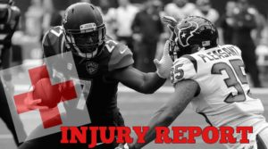 NFL Injury Report Used For Betting