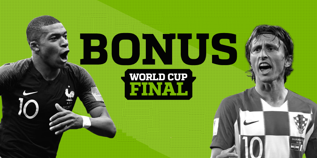 World Cup Final Sports Betting Bonuses Online