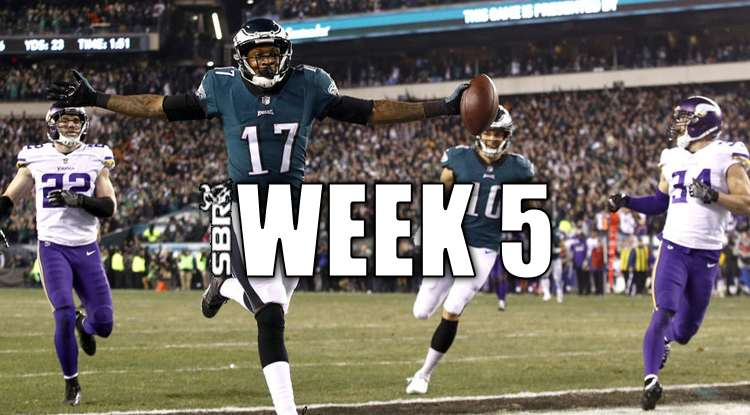 NFL Week 5 Best Bets Against The Spread   Picks, Odds & Predictions