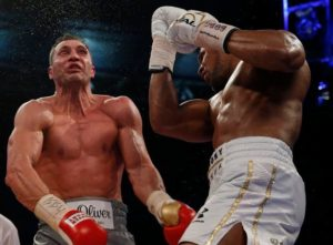 AJ knocks out Klitschko with an uppercut - boxing betting