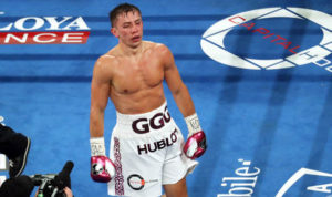 GGG with his guard down - boxing bets