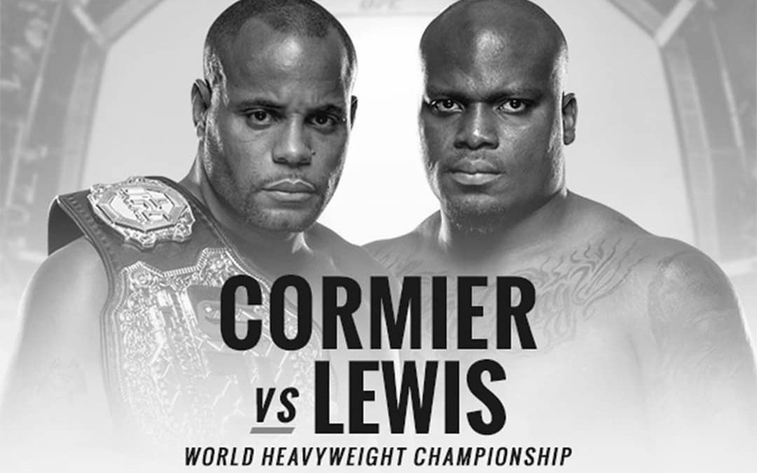 UFC 230 Cormier vs Lewis heavyweight championship fight