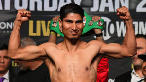 Mikey García Weight-in