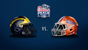 2018 CHICK-FIL-A PEACH BOWL - Florida Gators vs. Michigan Wolverines