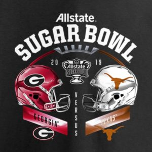 ALLSTATE SUGAR BOWL – Texas Longhorns vs. Georgia Bulldogs