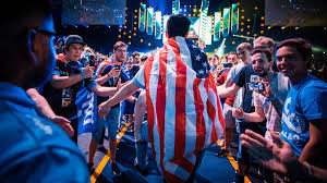 American in eSports competition