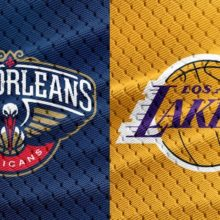 pelicans vs. lakers today