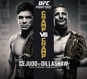 cejudo vs. dillashaw fight night 143 betting picks and odds