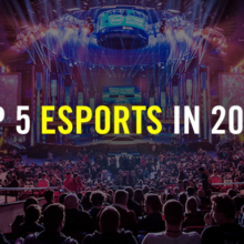 Top 5 eSports Games In 2019 You Should Play And Bet On