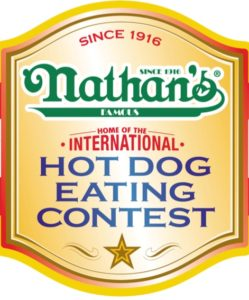 nathans hot dog eating contest logo