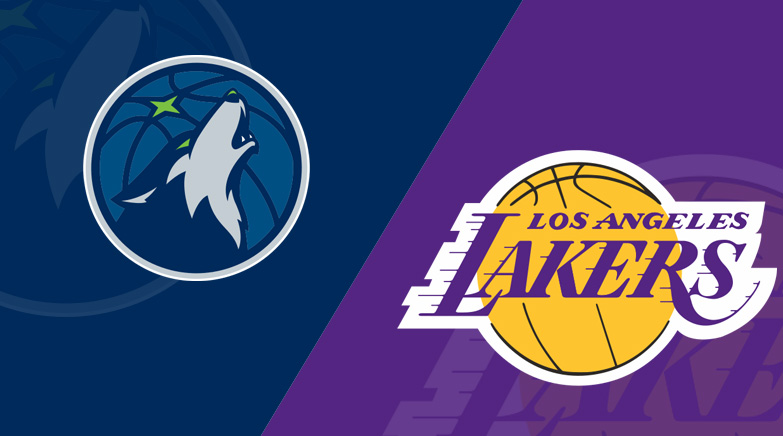 timberwolves vs. lakers consensus picks for tonight
