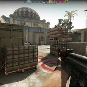CSGO First Person Shooter