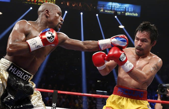 Mayweather-Pacquiao Rematch odds