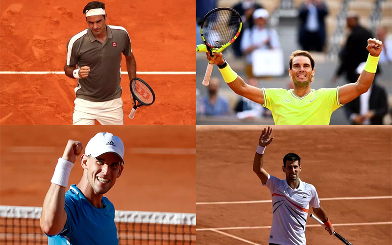 2019 Mens French Open Semifinals Betting