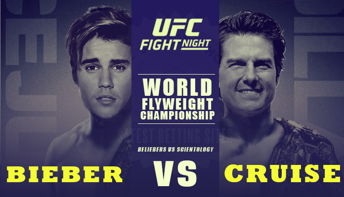 bieber vs cruise who would win? betting odds