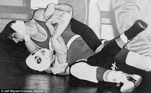 young tom cruise wrestling in school