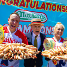 Bet on Nathans Hot Dog Contest 2020