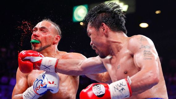 Manny Pacquiao vs Keith Thurman Boxing Match