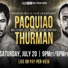 Manny Pacquiao vs Keith Thurman Boxing Match - Betting Odds and Pick