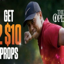 MyBookie British Open Bonuses