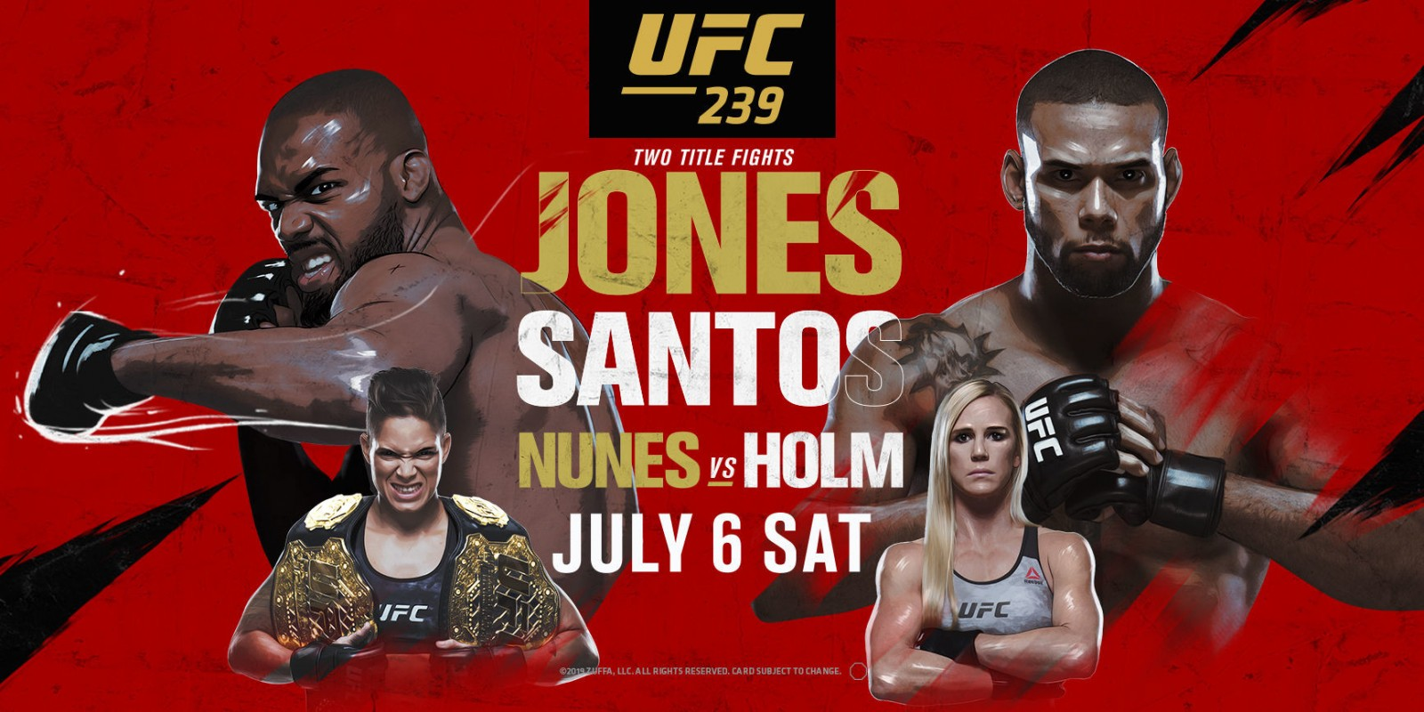 UFC 239 free expert picks and betting preview