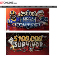 NFL Promotions and Contests at BetOnline