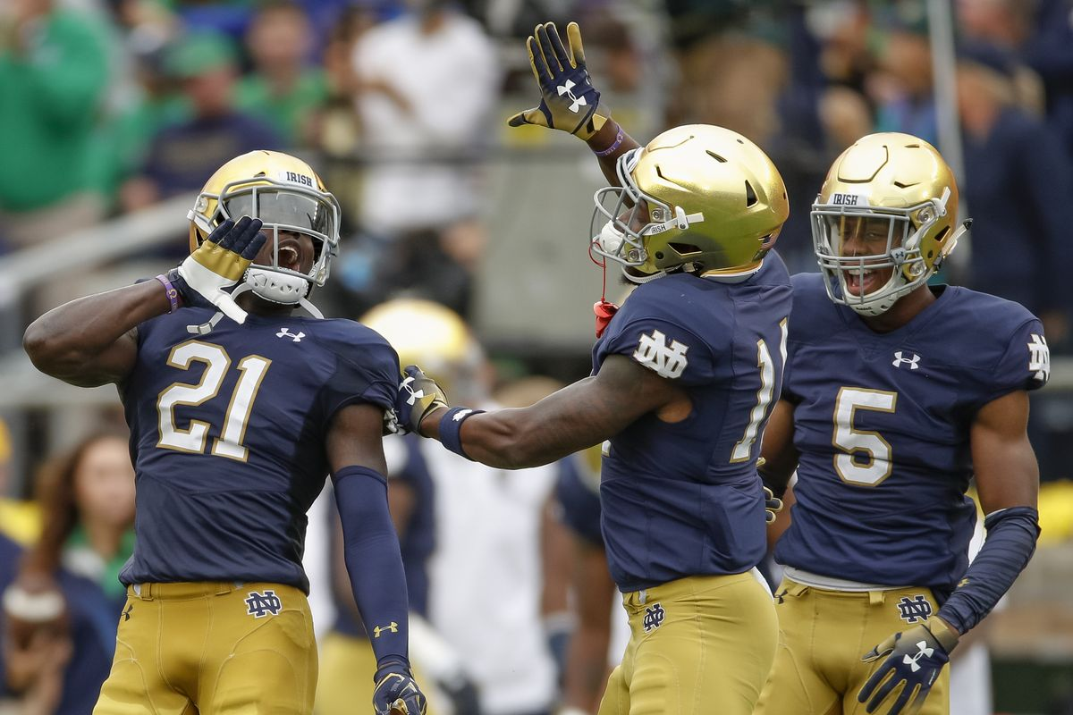 Notre Dame Fighting Irish vs. Louisville Cardinals - NCAAF Betting Picks And Odds