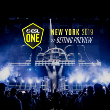 ESL One New York Stage in 2018