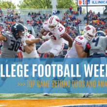 College Football week 9 betting odds and picks