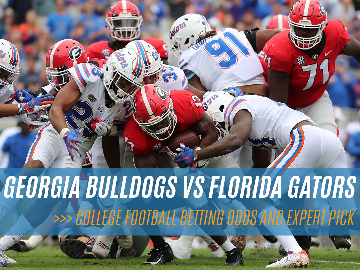 Georgia Bulldogs vs Florida Gators College Football Betting Odds and Pick