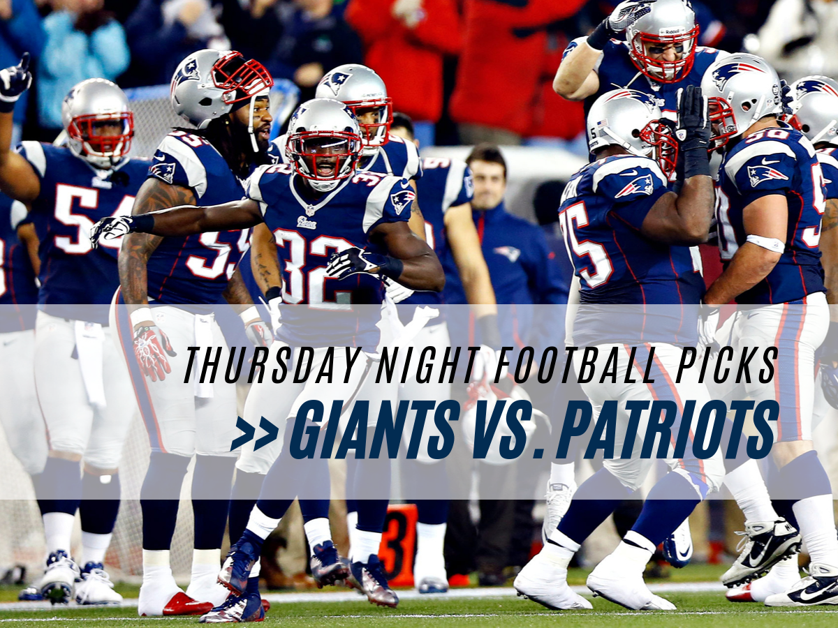 Giants at Patriots NFL week 6 betting odds and pick