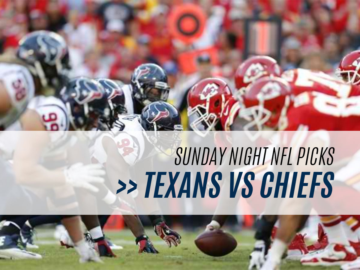 Houston Texans vs Kansas City Chiefs - NFL Week 6 Betting Odds and Pick